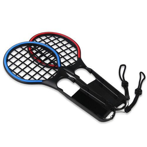 DOBE Colorful Tennis Racket Small Handle Two Color Sports Tennis Racket For Switch