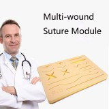 Laparoscopic Surgery Simulation Training Multiple Wound Suture Module Simulation Silicone Human Skin