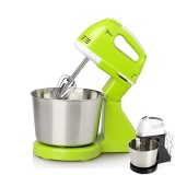 Portable Blender Electric Dough Cake Mixer Egg Whisk Baking Whipping Cream Machine (Green)