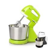 Portable Blender Electric Dough Cake Mixer Egg Whisk Baking Whipping Cream Machine (Green)