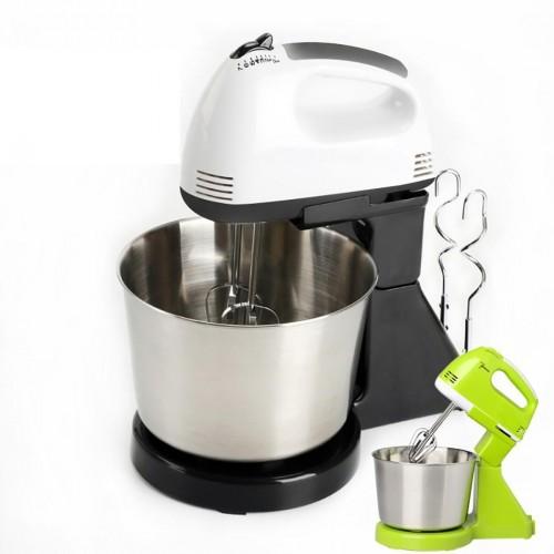 Portable Blender Electric Dough Cake Mixer Egg Whisk Baking Whipping Cream Machine (Black)