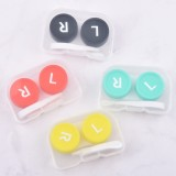 5 PCS Convenient Travel Contact Lens Case Eyes Care Kit, Random Color Delivery