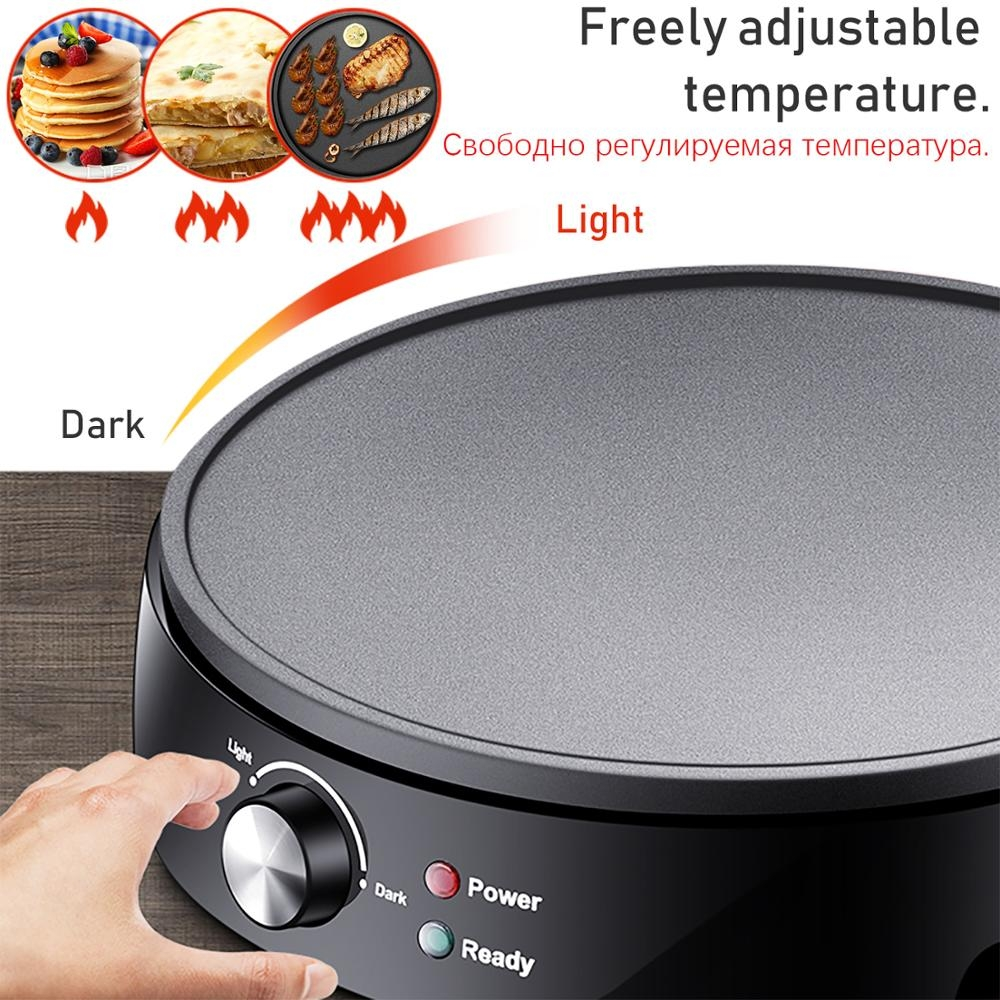 Electric Griddle Pizza Pancake Roll Non-Stick Griddle Baking Pan Griddle Cooking Tools