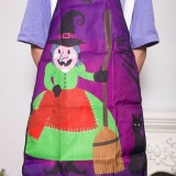 2 PCS Halloween Party Decoration Apron Halloween Decorations (Old Witch)