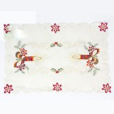 Christmas Desktop Placemat Knife and Fork Christmas Decoration (Candle)