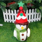 2 PCS Christmas Cartoon Non-woven Hand-assembled Gift Decorative Hat Without Dolls (Old Man)