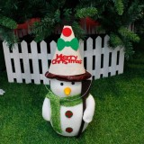 2 PCS Christmas Cartoon Non-woven Hand-assembled Gift Decorative Hat Without Dolls (Small Deer)