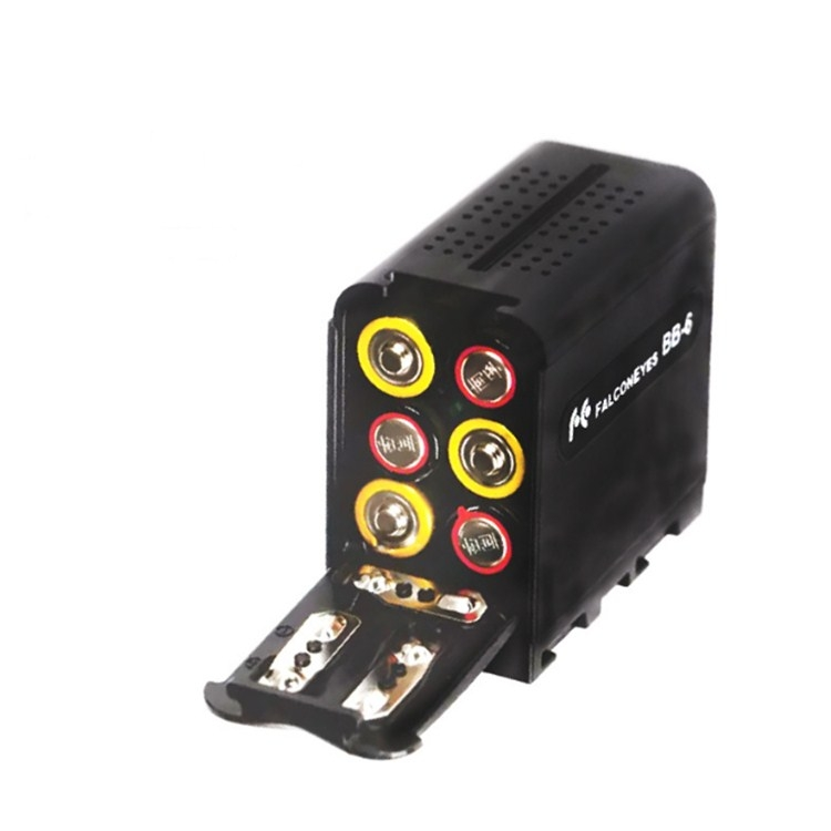 BB-6 AA Battery Box To F970 Box Universal Battery Box for LED Camera Light Fill Light