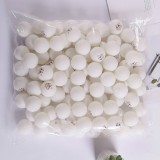 ROYING 100 PCS Professional ABS Table Tennis Training Ball, Diameter: 40mm, Specification: White 2Stars