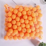 ROYING 100 PCS Professional ABS Table Tennis Training Ball, Diameter: 40mm, Specification: Orange 2Stars