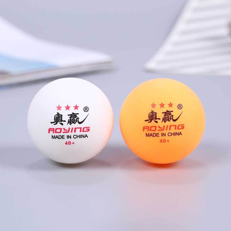 ROYING 100 PCS Professional ABS Table Tennis Training Ball, Diameter: 40mm, Specification: White 3Stars