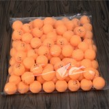 ROYING 100 PCS Professional ABS Table Tennis Training Ball, Diameter: 40mm, Specification: Orange 3Stars