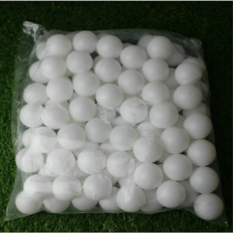 150 PCS No Letter Seamed Table Tennis Ball for Draw / Entertainment, Diameter: 40mm (White)