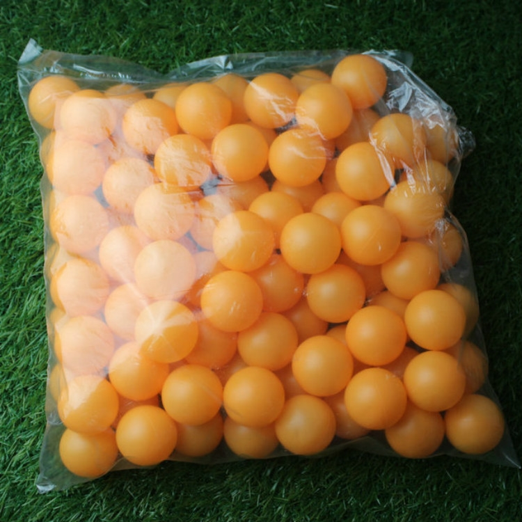150 PCS No Letter Seamed Table Tennis Ball for Draw / Entertainment, Diameter: 40mm (Yellow)
