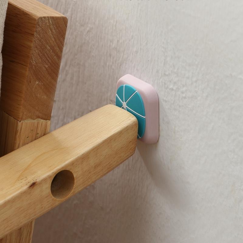 10 PCS Silicone Door Handle Collision Pad Wall Cover (Bird)