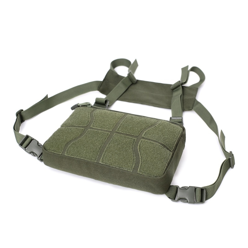 Multi-functional Chest Bag for Outdoor Sports Portable Storage Backpack (Army Green)