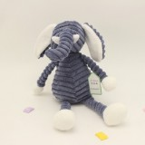 Striped Animal Plush Toy Doll Creative Animal Doll, Type: Elephant, Height: 15cm