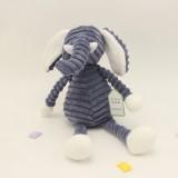 Striped Animal Plush Toy Doll Creative Animal Doll, Type: Elephant, Height: 33cm