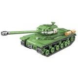 100062 Tank Series Children Educational Spell Inserting Assembling Building Blocks Toys