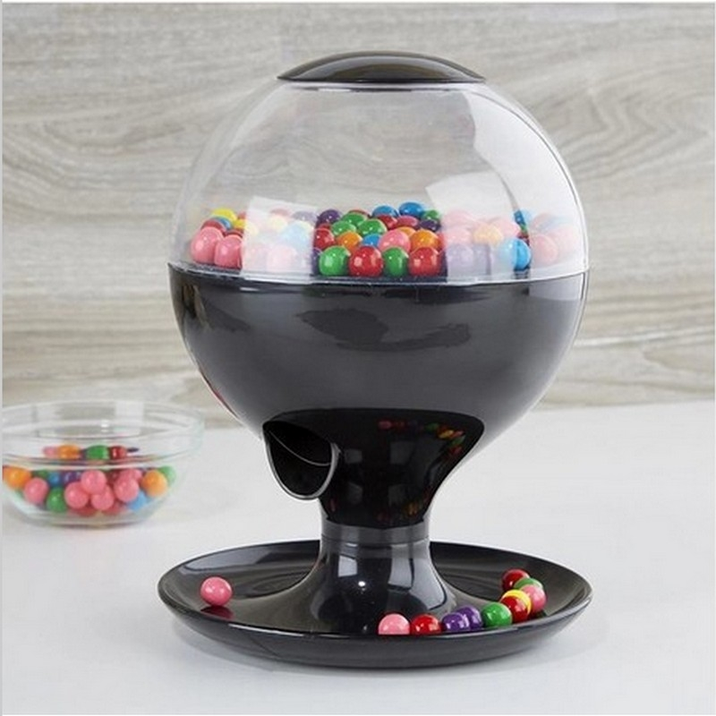 Vintage Wedding Candy Dispenser Automatic Sensor ABS Mini Gumball Candy Machine