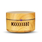 YX-123 Mini Car Vibration Intelligent Diffuser Aromatherapy Air Purifier Smart Essential Oil Diffuser (Light Wood)