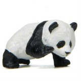Panda Life Multi-shaped Micro-landscape Baked Landscape Doll Ornaments (Climbing Panda)