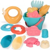 14 in 1 Outdoor Play Water Play Sand Soft Silicone Material Tool Children Play WaterToy Set