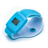 Smart Body Temperature Bracelet Bluetooth Thermometer Child Baby Thermometer (Blue)