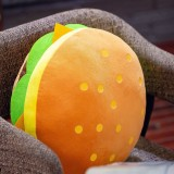 Simulation Hamburger Plush Stuffed Throw Pillow Back Cushion Sofa Bed Decor (40cm)