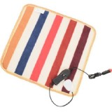 12V for Car Animals Bed Heater Mat Heating Pad Winter Warmer Carpet Plush Electric Blanket Seat Heating Pad, Size: 45x45cm (Color Radom Delivery)