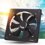 220V Exhaust Fan High Speed Air Extractor Window Ventilation Fan for Kitchen Ventilator Axial Industrial Wall Fan 12 inch