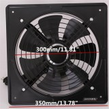220V Exhaust Fan High Speed Air Extractor Window Ventilation Fan for Kitchen Ventilator Axial Industrial Wall Fan 10 inch