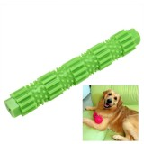 Pet Dogs Training Chew Pet Toys Strong Bite Resistant Dogs Rubber Molar Toys, Size: L (Green)