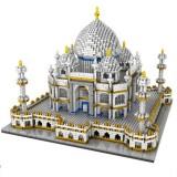 Small Particle Building Blocks Assembled World Building Model Puzzle Toy (Taj Mahal)