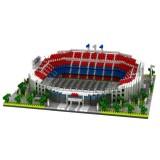 Small Particle Building Blocks Assembled World Building Model Puzzle Toy (Camp Nou)
