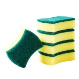 10 PCS Magic Sponge Eraser Cleaner Kitchen Clean Scouring Cloth Dish Washing Kitchen Cleaning Tools, Shape: Waist Shape