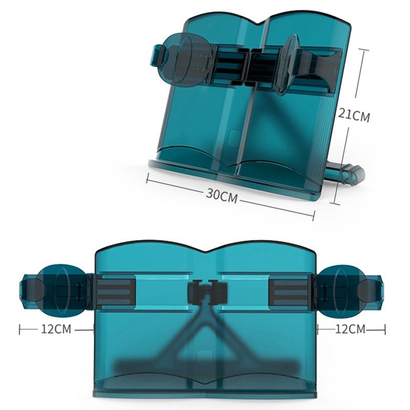 Nanguo Shuxiang Students Telescopic Look Bookshelf IPad Bracket Adjust Children Reading Frame (Blue)