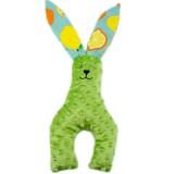 Cute Rabbit Plush Toy Baby Sleep Comfort Toy Children Gift (Mint Green)