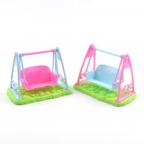 3 PCS Swing Doll Children Simulation Swing Toy Doll Accessories Bracket Simulation Swing (Random Color)