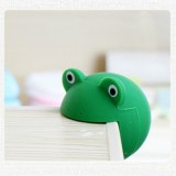 Baby Safe Anti Collision Corner Animal Shaped Cute Table Desk Corner Protector Cushion (Dark Green Frog)