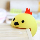 Baby Safe Anti Collision Corner Animal Shaped Cute Table Desk Corner Protector Cushion (Yellow Chick)