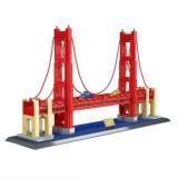 Large Building Model Small Particles Building Blocks Assembling Children Toys (Golden Gate Bridge)