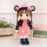 Simulation Doll People Cute Princess Doll Plush Toy Wedding Doll Little Girl Child Doll, Size: 45cm (3)