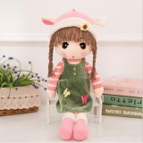 Simulation Doll People Cute Princess Doll Plush Toy Wedding Doll Little Girl Child Doll, Size: 45cm (4)