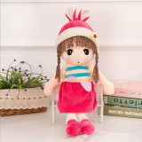 Simulation Doll People Cute Princess Doll Plush Toy Wedding Doll Little Girl Child Doll, Size: 45cm (5)