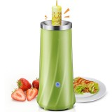 Automatic Multifunctional Egg Roll Maker Electric Egg Boiler Omelette Machine Breakfast Egg Tool (Green)