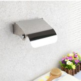 Wall Mounted Tissue Holder Stainless Steel Bathroom Roll Tissue Box Toilet Paper Holder