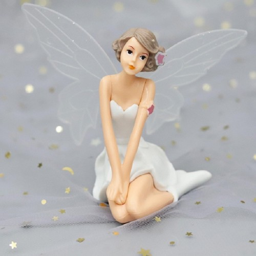 3 PCS Creative Scene Flower Fairy Doll Home Decoration Baking Decoration (Underarm)