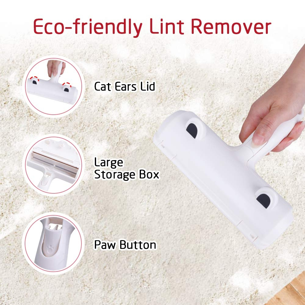 Pet Hair Remover Brush Cat Dog Fur Brush Dust Static Magic Lint Brush Cleaning Tools