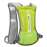 JUNLETU Running Water Bag Backpack Ultra Light Breathable Waterproof Marathon Backpack Outdoor Sports Riding Bag (Green)